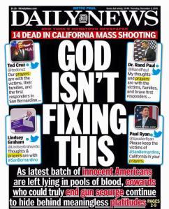 Daily News - God Isn't Fixing This