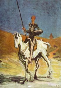 Honoré Daumier (Don Quixote) from wiki page