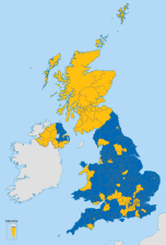 Brexit Vote Map