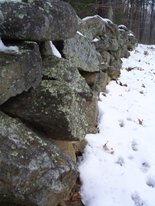 Robert Frost's Mending Wall in Derry, NH