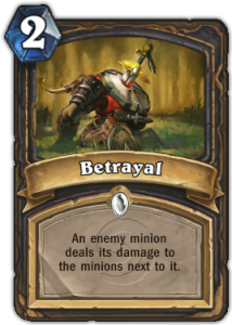 Betrayal Card
