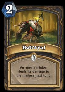 Betrayal Card