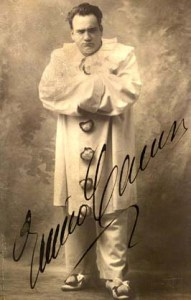 Enrico Caruso as Murderous Clown Canio